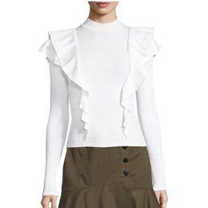 Veronica Beard Jeans Dawson Sweater in White